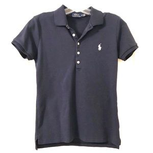 Polo by Ralph Lauren Navy Blue with white horse